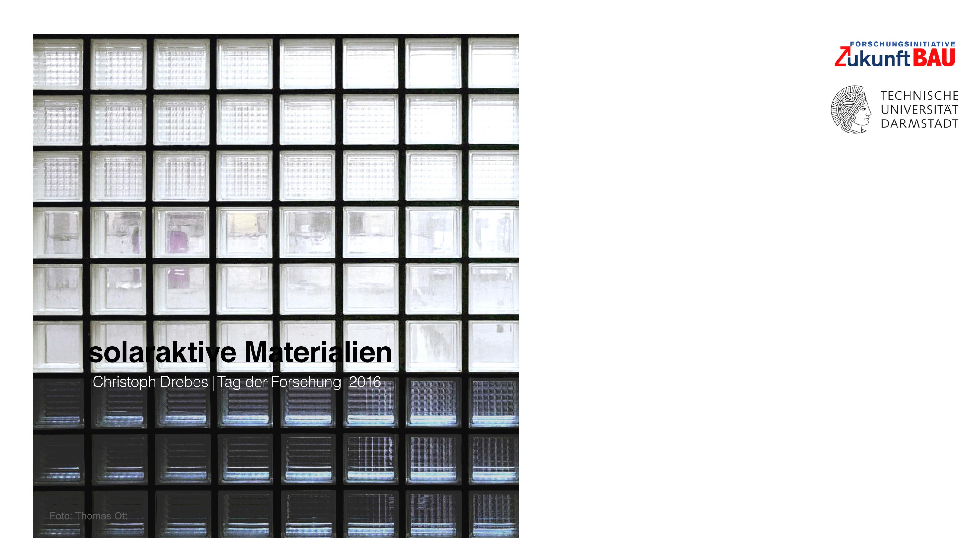solaraktive Materialien